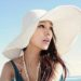 中国女性が紫外線対策に被ってる帽子が変すぎる