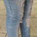中国女性のスキニージーンズの履き方が独特な件