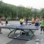 中国での卓球は意外とアウトドアスポーツ