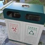 どう捨てたものか悩みそうな中国のゴミ箱