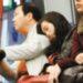 電車で居眠りして肩に寄られた時の男女の差