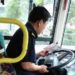 【閲覧注意】絶対やっちゃいけない運転中のスマホいじり中国のバス運転手編