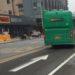 中国の道路の矢印標示はやっぱり雑。