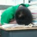 とことん眠くなったらどこまでも寝る中国の生徒