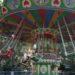 遊園地の空中ブランコの中国式楽しみ方