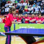 中国のすごーい卓球の達人の皆さま