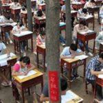 【 悲報 】中国のカンニング防止策は生徒の健康には配慮されてない