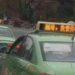 中国広元市のタクシーの電光掲示板が変なことを言ってる