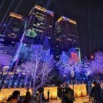 中国各地の都心部のビルは夜間なぜあんなに光っているのか