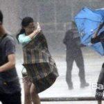 今年の中国の台風は風の威力がジェット気流並み