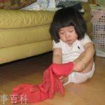 中国の子供はけっこう強烈に寝ぼけてます