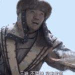 中国の時代劇の馬上シーンの撮影現場