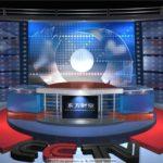 ベトナムの首脳会談を追った韓国のニュース番組の臨時スタジオ