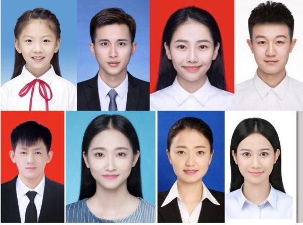 中国の証明写真撮影の創意工夫